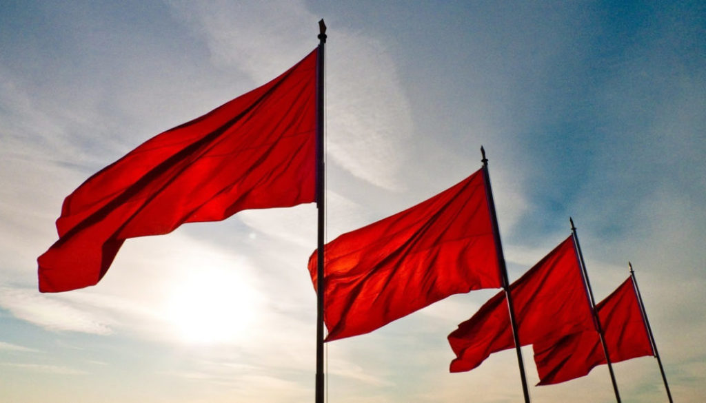 Cautionary Tale: Red Flags