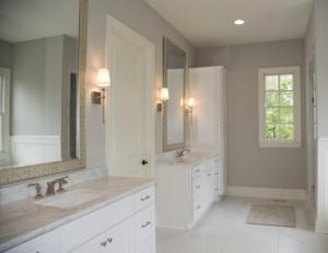 Crisp and Clean Bathroom Design