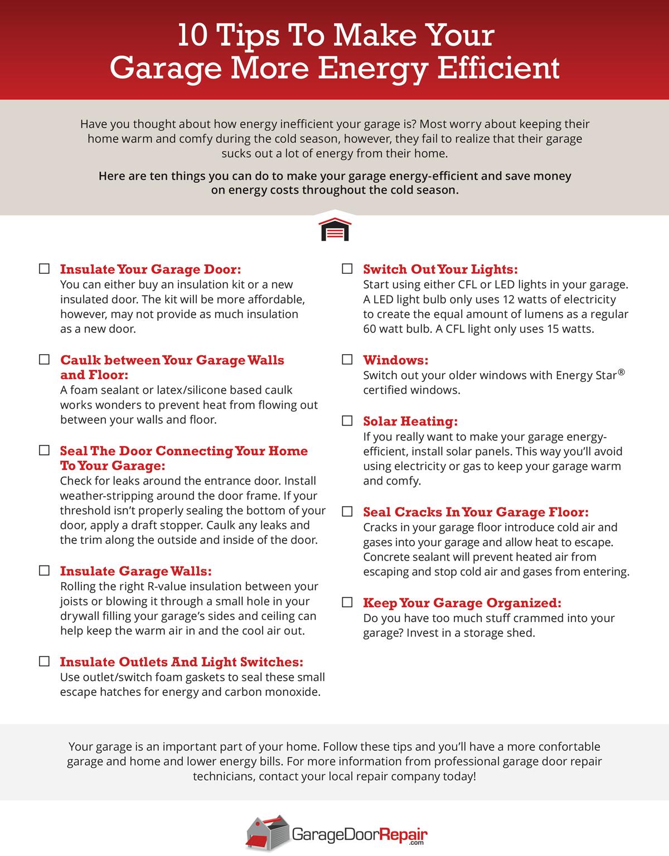 garage-door-info-graph - Precision Custom Home Builders