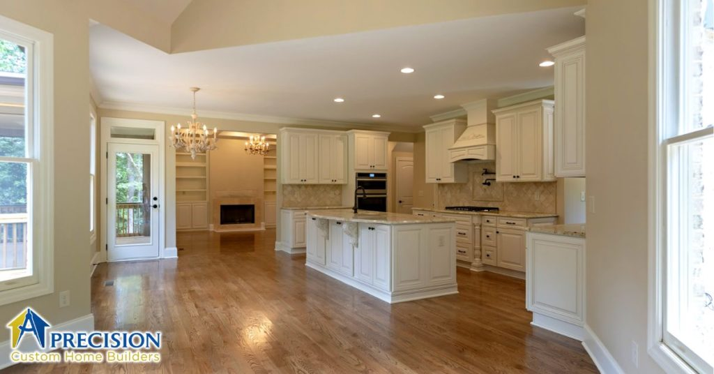 Open Floor Plans - Precision Custom Home Builders