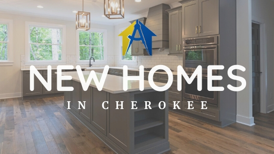 5 Beautiful New Homes In Cherokee