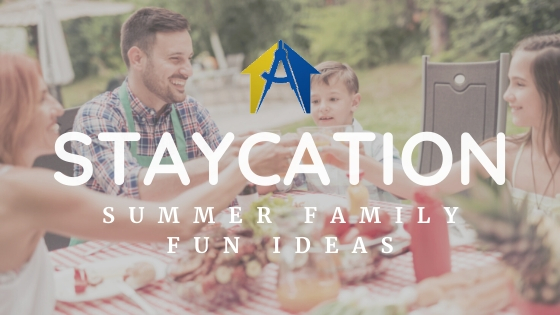 Summer Family Staycation Ideas