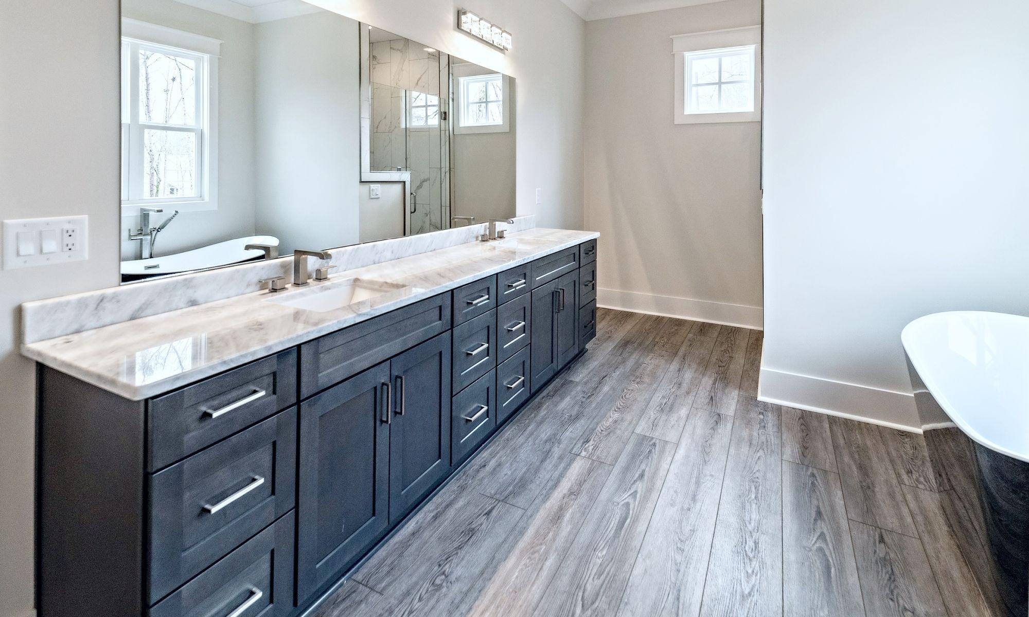 01 J. Snider Bathroom (1) - New Single Family Home Custom Construction North West Georgia