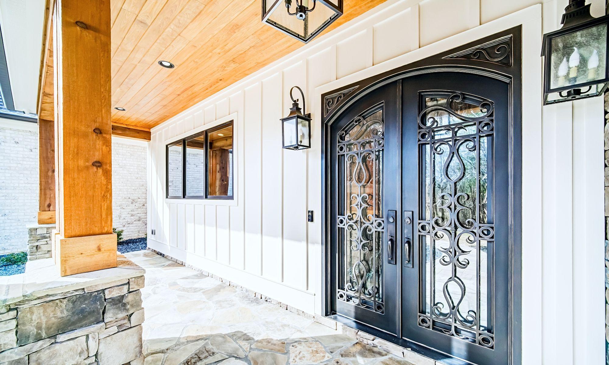 01 Nolan Front Door (edit) - New Single Family Home Custom Construction North West Georgia
