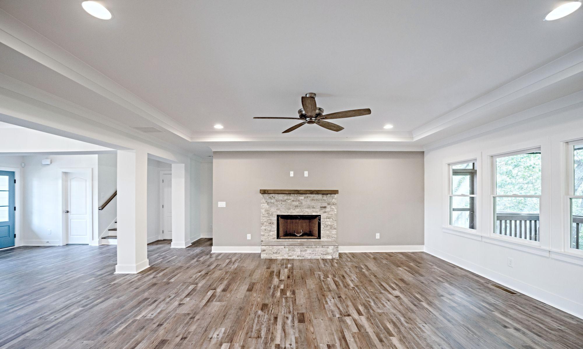 01 Rettig Living - New Single Family Home Custom Construction