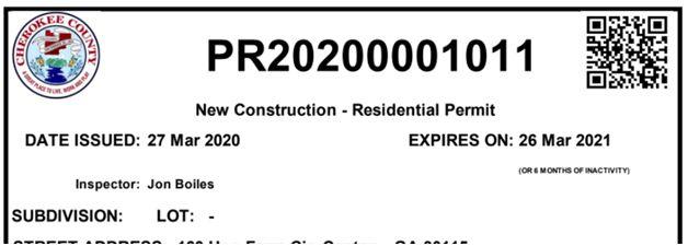 Building Summary - Permitting