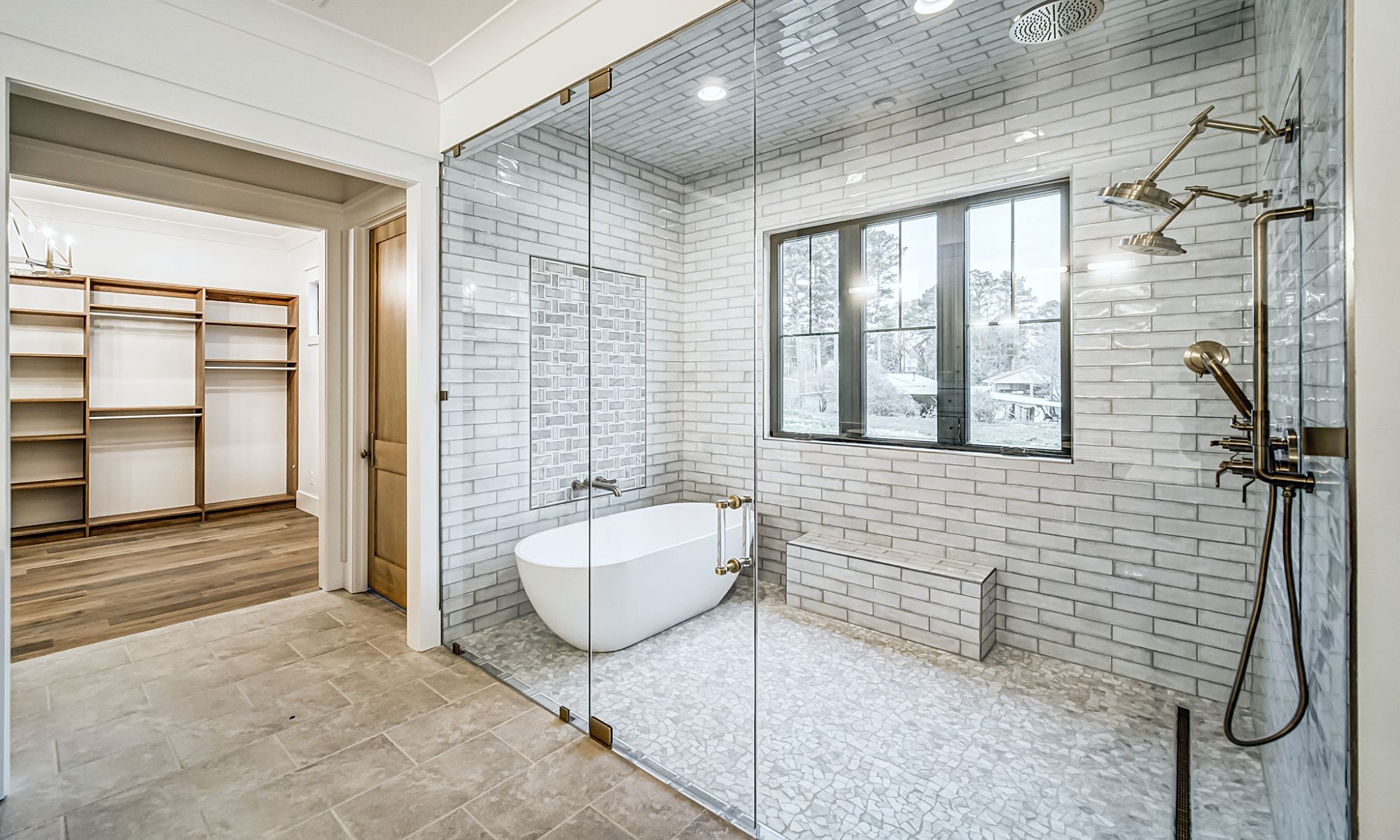 Master Bath | New Single Family Home Custom Construction North West Georgia