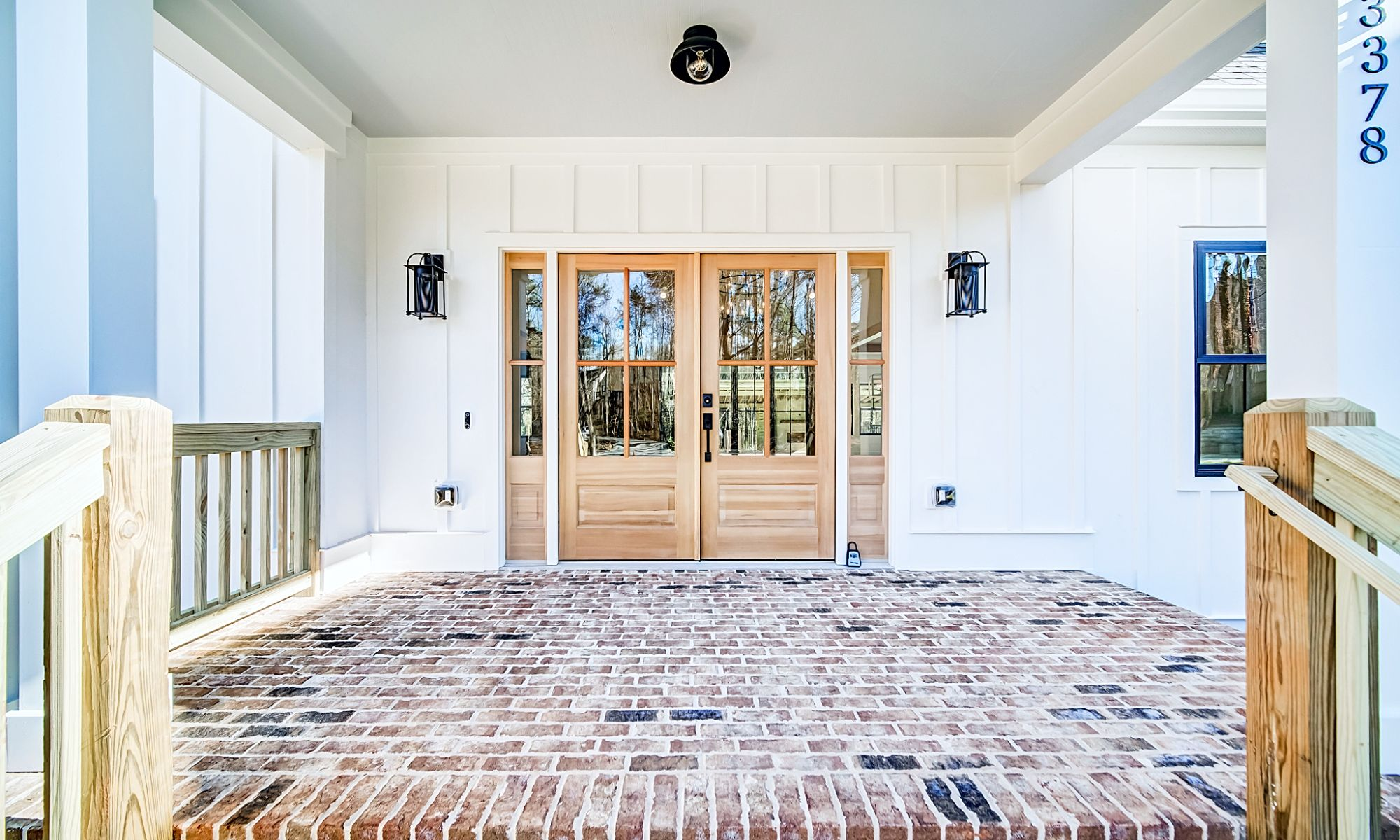 Front Doors - New Single Family Home Custom Construction North West Georgia