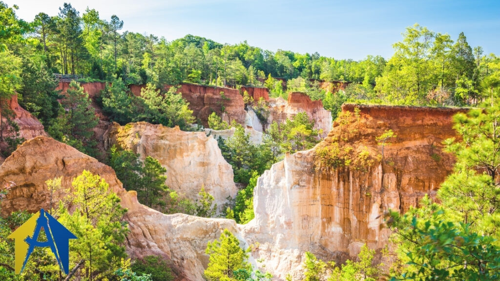 Providence Canyon State Park in Columbus