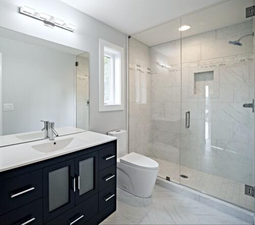 08 Nguyen Bathroom 2 - New Single Family Home Custom Construction North West Georgia