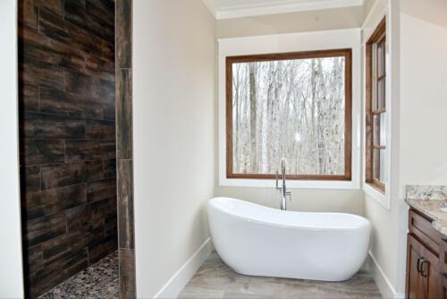 05 Sweat Bathtub - New Single Family Home Custom Construction North West Georgia