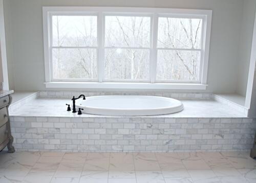 08 Prothro Bathtub - New Single Family Home Custom Construction North West Georgia