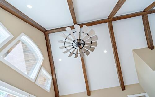 03 Fillman Ceiling - New Single Family Home Custom Construction
