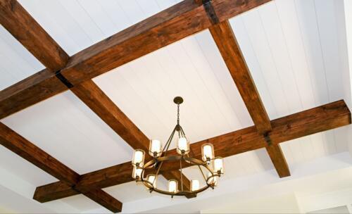 04 Thomas Jeff Ceiling - New Single Family Home Custom Construction