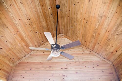 05 McAnally Deck Ceiling - New Single Family Home Custom Construction