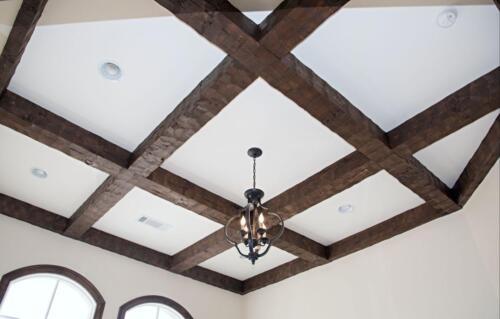 06 Pedersen Ceiling - New Single Family Home Custom Construction