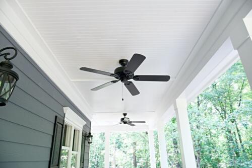 07 Carrigan Deck Ceiling - New Single Family Home Custom Construction