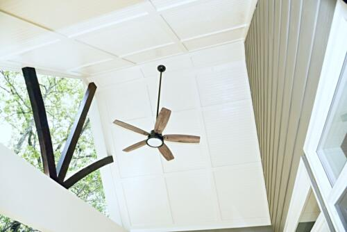 09 Fraser Deck Ceiling - New Single Family Home Custom Construction