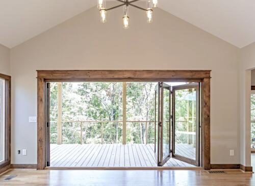 05 Sullivan Deck View- New Single Family Home Custom Construction North West Georgia