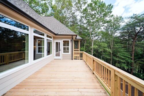 07 D. Snider Deck- New Single Family Home Custom Construction North West Georgia