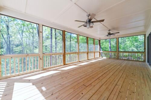 10 Voudy Deck- New Single Family Home Custom Construction North West Georgia