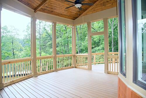 12 Matthews Deck 3- New Single Family Home Custom Construction North West Georgia