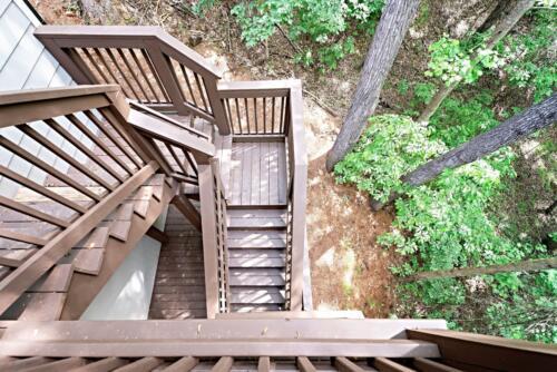 15 Rettig Deck Stairs- New Single Family Home Custom Construction North West Georgia