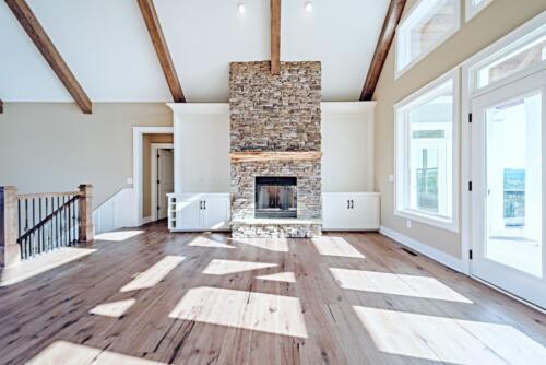01 Fillman Fireplace - New Single Family Home Custom Construction North West Georgia