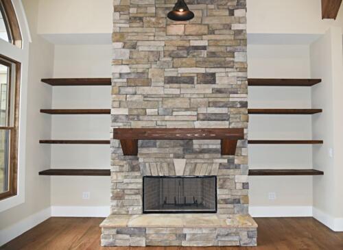 05 Sweat Fireplace 2 - New Single Family Home Custom Construction North West Georgia