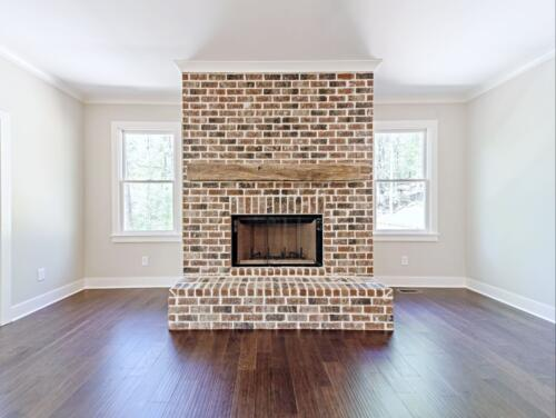 09 Voudy Fireplace - New Single Family Home Custom Construction North West Georgia