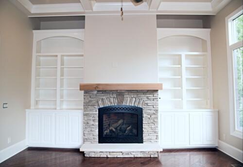 10 Matthews Fireplace 2 - New Single Family Home Custom Construction North West Georgia