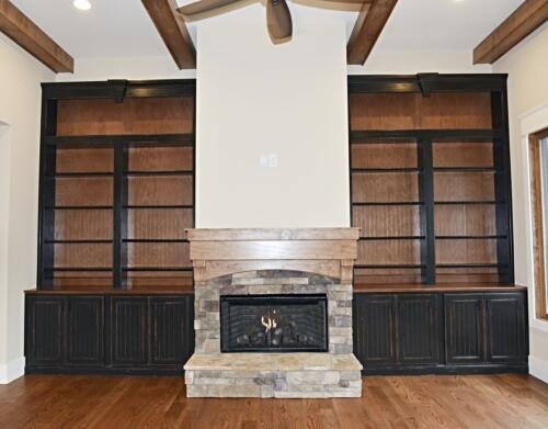 11 Sweat Fireplace - New Single Family Home Custom Construction North West Georgia
