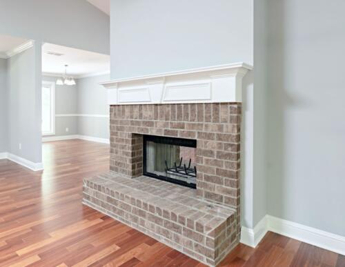 12 Lyons Fireplace - New Single Family Home Custom Construction North West Georgia