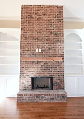 13 AJ Smith Fireplace - New Single Family Home Custom Construction North West Georgia