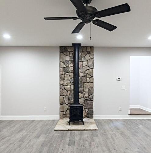 15 Bauer Fireplace - New Single Family Home Custom Construction North West Georgia