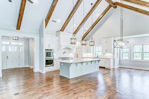 02 Hawkins Kitchen (1) - New Home Construction with Elegant Custom Kitchens