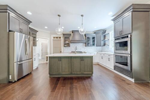 03 Voudy Kitchen - New Home Construction with Elegant Custom Kitchens