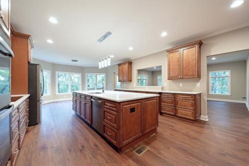 08 Burrow Kitchen - New Home Construction with Elegant Custom Kitchens
