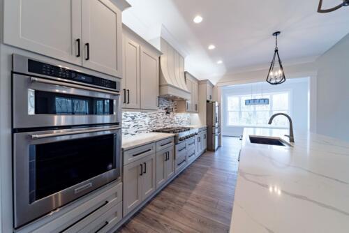 09 J. Snider Kitchen - New Home Construction with Elegant Custom Kitchens