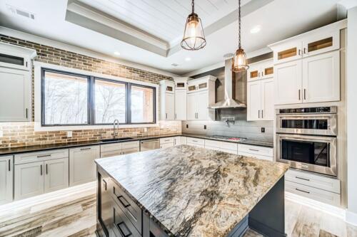 13 Nolan Kitchen 2 edit - New Home Construction with Elegant Custom Kitchens