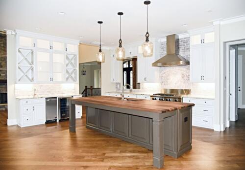 14 Sweat Kitchen - New Home Construction with Elegant Custom Kitchens