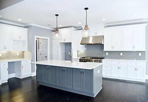 16 Fraser Kitchen - New Home Construction with Elegant Custom Kitchens