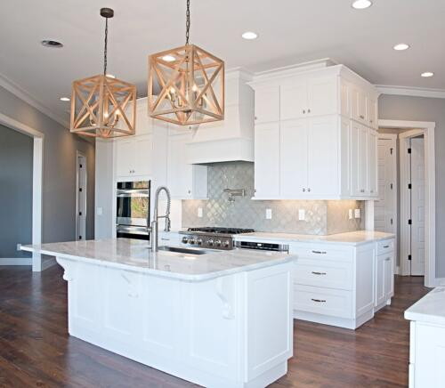 17 Cox Kitchen - New Home Construction with Elegant Custom Kitchens