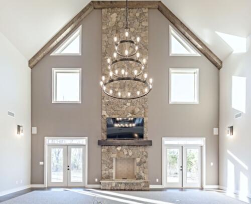 02 Elsberry Living Room - New Single Family Home Construction