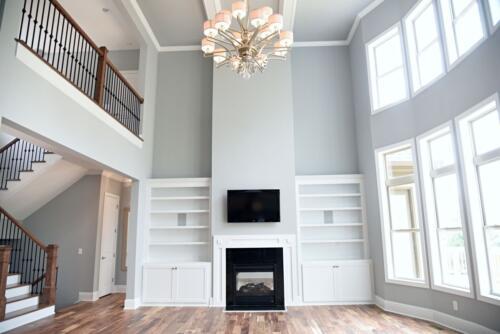 07 McCoy Living Room - New Single Family Home Construction