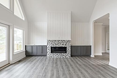 09 Mullen Living Room - New Single Family Home Construction