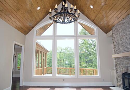 13 Matthews Living Room - New Single Family Home Construction