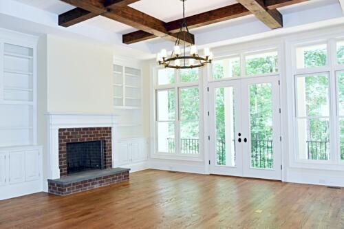 14 Thomas Jeff Living Room - New Single Family Home Construction