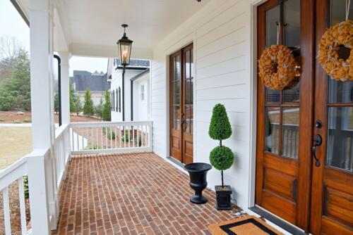 02 Prothro Front Porch - New Single Family Home Custom Construction