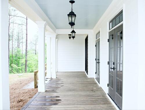 04 Elliott Porch - New Single Family Home Custom Construction